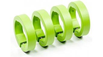 Sixpack Ersatzklemmringe Aluminium liquid-green (Set mit 4 Stück)