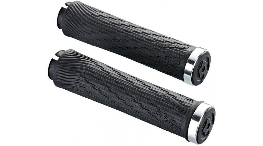 RockShox Locking Grips for TwistLoc 77//125mm with Black Clamps and End Plug