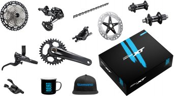 Shimano XT M8100 Priority Pack MTB Trail/Enduro groupset incl. hubs
