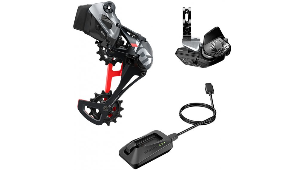 SRAM X01 Eagle AXS 1x12 Upgrade- kit rosso