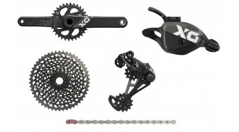 SRAM X01 Eagle 1x12 groupset (without BB30 bottom bracket ) Triggershifter black
