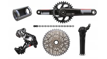 SRAM XX1 1x11 groupset (incl. bottom bracket ) black/red