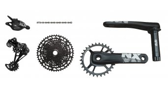 SRAM NX Eagle DUB 1x12 groupset (crank without bottom bracket ) Triggershifter black 2019