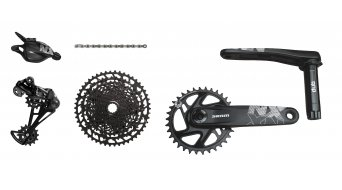 SRAM NX Eagle Boost DUB 1x12 groupset (crank Boost, without bottom bracket ) Triggershifter black 2019