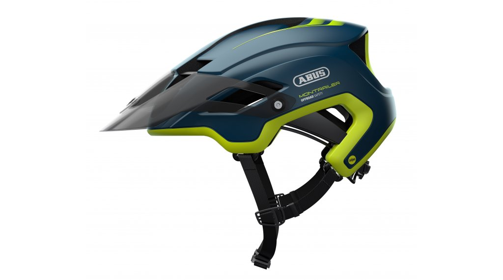 Abus Montrailer MIPS MTB(山地)头盔 型号 M (55-58厘米) midnight blue 款型 2020