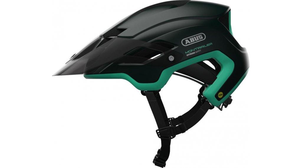 Abus Montrailer MIPS MTB(山地)头盔 型号 M (55-58厘米) smaragd green 款型 2020