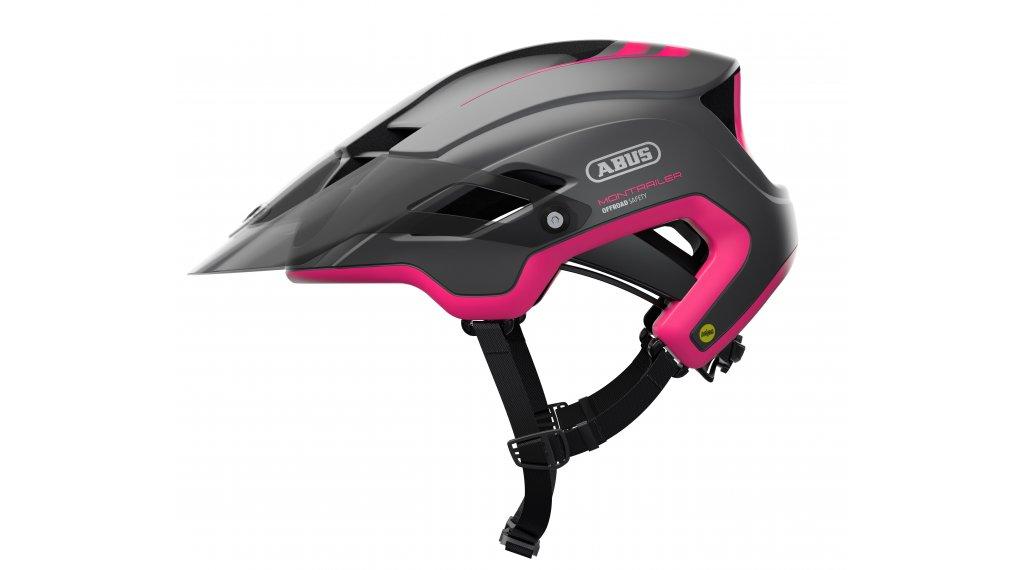 Abus Montrailer MIPS MTB(山地)头盔 型号 M (55-58厘米) 紫红色 粉色 款型 2020