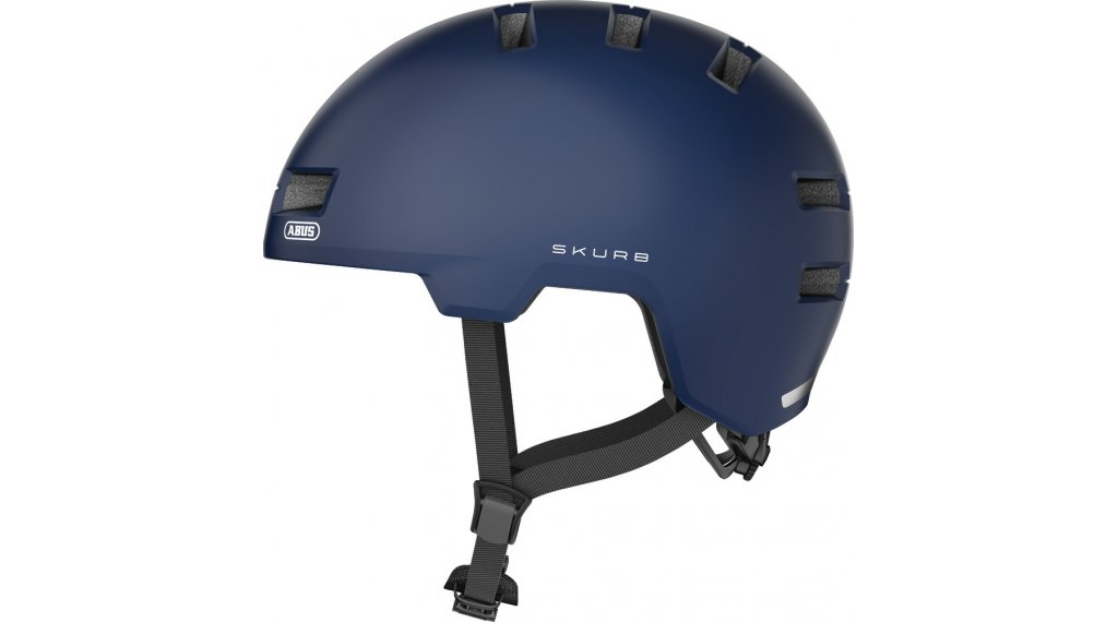 Abus Skurb Fahrradhelm Gr. S (52-56cm) midnight blue