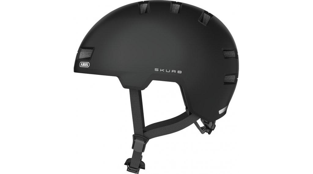 Abus Skurb Fahrradhelm Gr. S (52-56cm) velvet black
