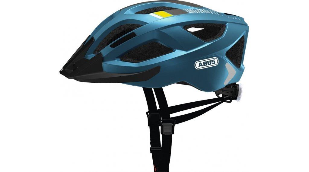 Abus Aduro 20 Fahrradhelm Gr S 51 55cm Steel Blue Mod 2019