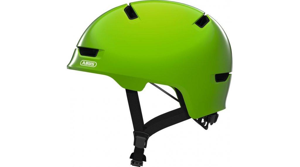 Abus Scraper Kid 3.0 Kinder-Helm Gr. S (51-55cm) shiny green Mod. 2020