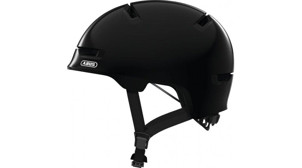 Abus Scraper Kid 3.0 Kinder-Helm Gr. S (51-55cm) shiny black Mod. 2020