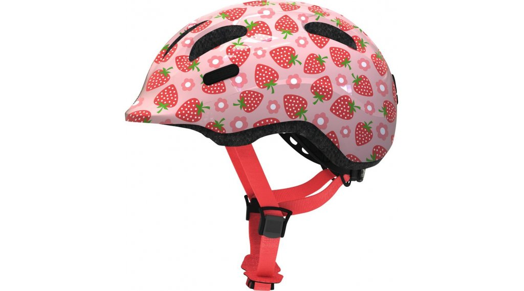 Abus Smiley 2.1 Kinder-Helm Gr. S (45-50cm) rose strawberry Mod. 2020