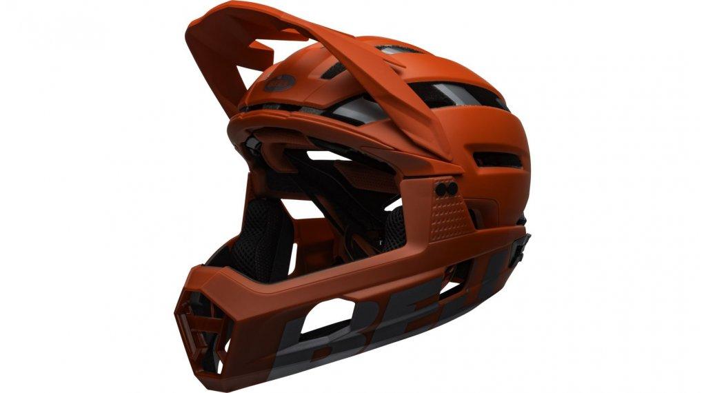 Bell Super Air R MIPS Fullface-Helm Gr. M (55-59cm) matte/gloss red/gray Mod. 2020