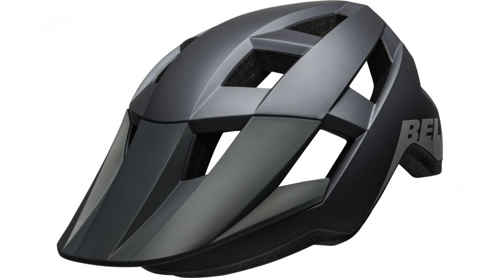 Bell Spark Jr MIPS MTB- helmet kids size  unisize  (50-57cm)  mat/gloss grays