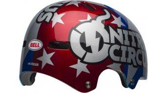 Bell Local MTB-Helm Gr. L (59-62cm) red/silver/blue Nitro Circus
