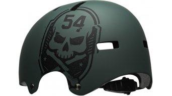 Bell Local MTB-Helm Gr. M (55-59cm) matte green/black scull