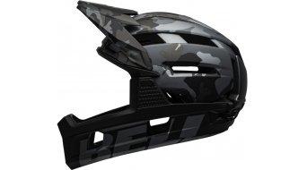 Bell Super Air R Spherical Fahrradhelm Gr. S (52-56cm) matte/gloss black camo