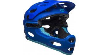 Bell Super 3R MIPS casco integral MTB-casco tamaño M (55-59cm) matte azul/bright azul