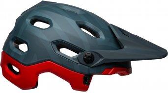 Bell Super DH Spherical casco integral MTB-casco tamaño M (55-59cm) prime matte azul/crimson