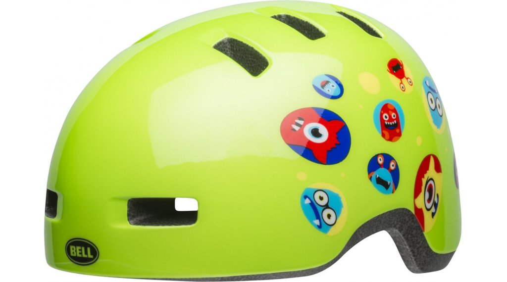 Bell Lil Ripper Child Kinder-Helm Gr. unisize  (48-55cm) green monster