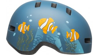 Bell Lil Ripper Child kids- helmet size  unisize  (48-55cm)  mat  gray/blue fish