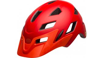 Bell Sidetrack Youth MIPS MTB- helmet kids size  unisize  (50-57cm)  mat  red/orange
