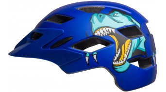Bell Sidetrack Youth MTB- helmet kids size  unisize  (50-57cm) t-rex  mat  blue