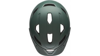 Bell Sidetrack Youth MTB- helmet kids size  unisize  (50-57cm)  mat  dark green/orange