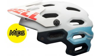 Bell Super 2 MIPS casco MTB-casco Señoras-casco tamaño S blanco/glavier azul sonic Mod. 2016
