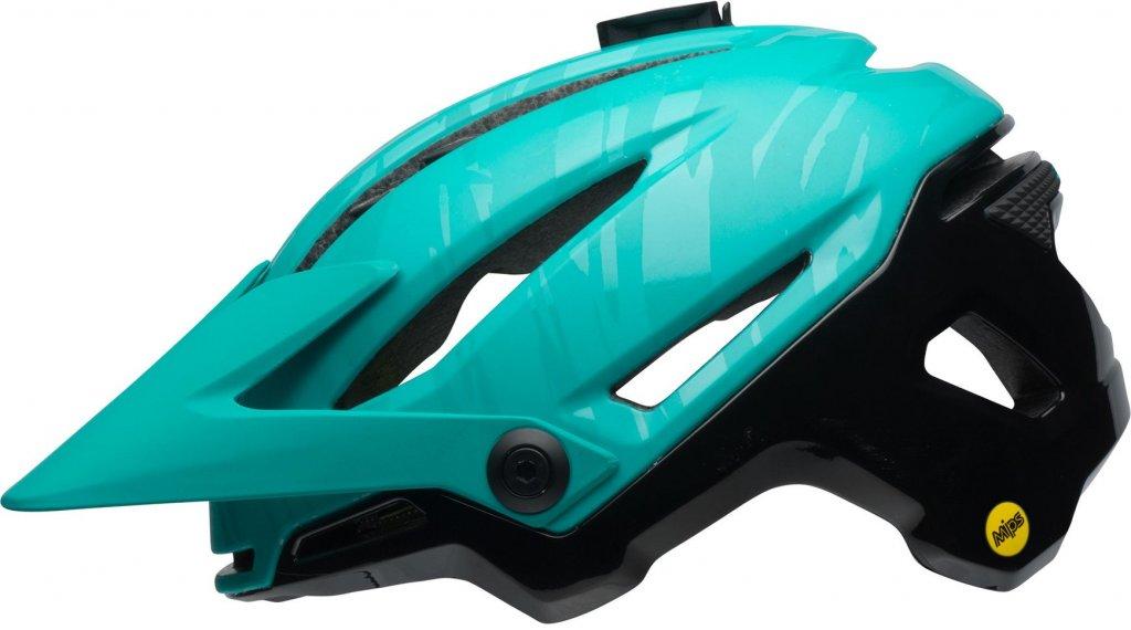 Bell Sixer Mips MTB(山地)头盔 型号 S (52-56厘米) matte emerald/black 款型 2018