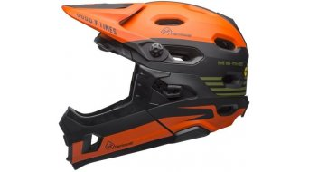 Bell Super DH Mips DH-Enduro-Helm Fasthouse-Edition matte green/orange Mod. 2018