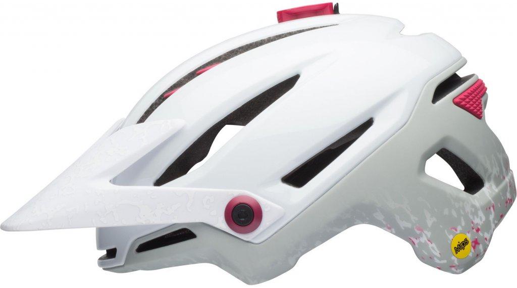 Bell Sixer JoyRide Mips MTB(山地)头盔 女士 型号 S (52-56厘米) matte white/cherry 款型 2018
