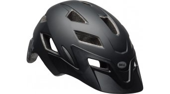Bell Sidetrack Youth 儿童头盔 型号 均码 youth (50-57厘米) 亚光黑/silver 款型 2019