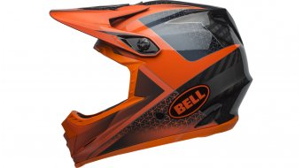 Bell Full-9 DH-casco tamaño XS/S (51-55cm) matte/gloss slate/dark gray/naranja Mod. 2019