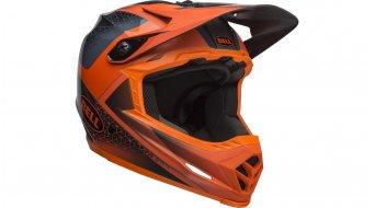 Bell Full-9 DH(速降)头盔 型号 XS/S (51-55厘米) matte/gloss slate/dark gray/橙色 款型 2019