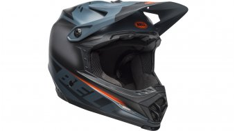 Bell Full-9 Fusion MIPS DH(速降)头盔 型号 XS (51-53厘米) matte/gloss slate/橙色 款型 2019