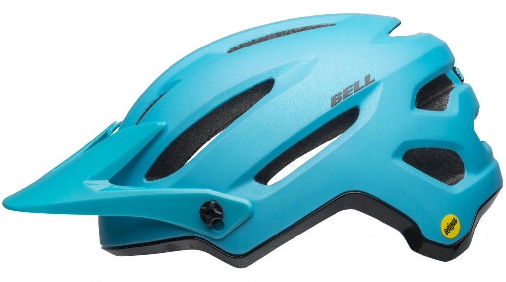 Bell 4Forty MIPS MTB(山地)头盔 型号 S (52-56厘米) rush matte/gloss bright blue/black 款型 2019