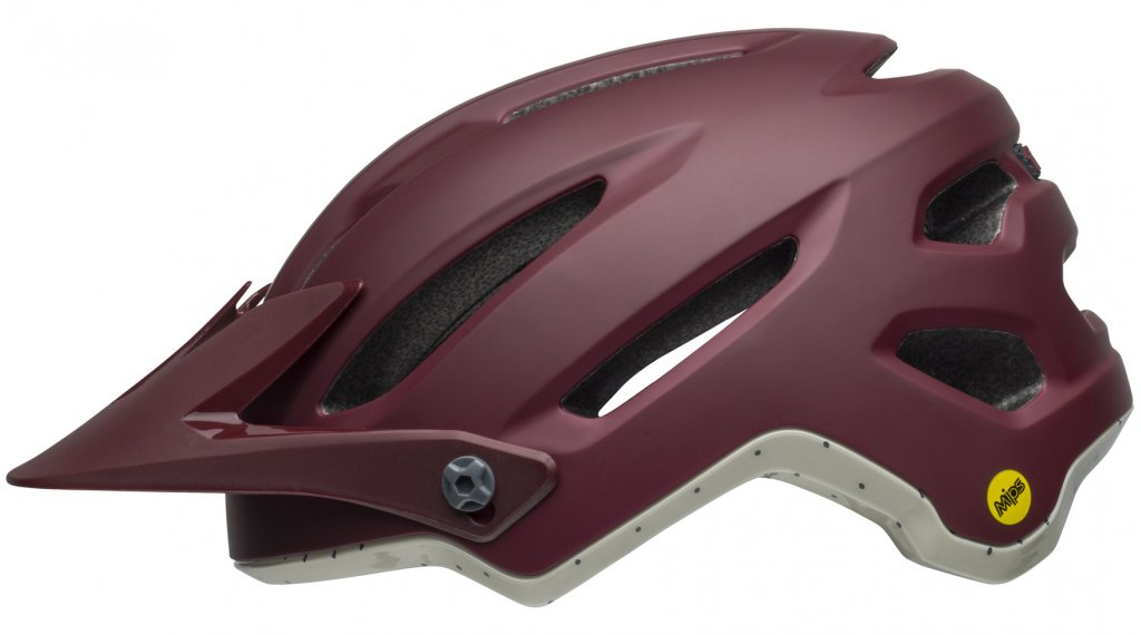 Bell 4Forty MIPS MTB(山地)头盔 型号 S (52-56厘米) virago matte/gloss maroon/slate/sand 款型 2019