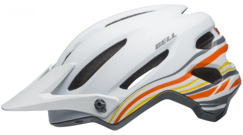 Bell 4Forty MTB(山地)头盔 型号 S (52-56厘米) rush matte/gloss white/橙色 款型 2019