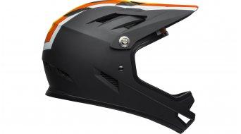 Bell Sanction DH(速降)头盔 型号 S (52-54厘米) agility 亚光黑/yelllow/橙色 款型 2019