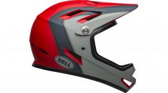 Bell Sanction DH(速降)头盔 型号 S (52-54厘米) presences matte crimson/slate/dark gray 款型 2019