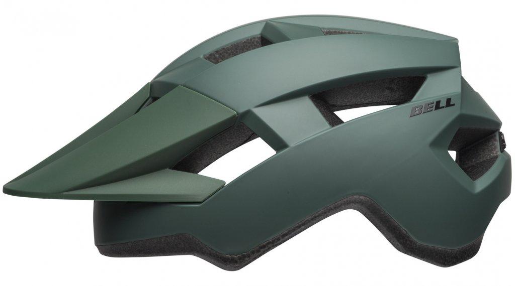 Bell Spark MTB(山地)头盔 型号 均码 (54-61厘米) matte dark green/black 款型 2019