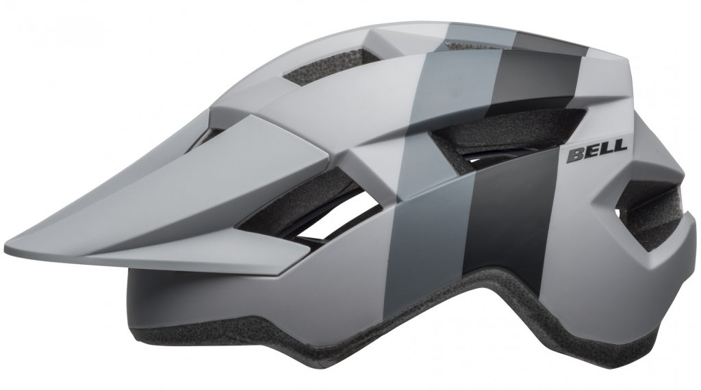 Bell Spark MTB(山地)头盔 型号 均码 (54-61厘米) downdraft matte gray/橙色 uni 款型 2019
