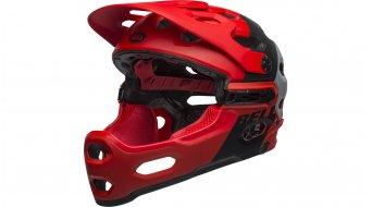 Bell Super 3R MIPS DH(速降)-Enduro头盔 型号 S (52-56厘米) downdraft matte crimson/black 款型 2019