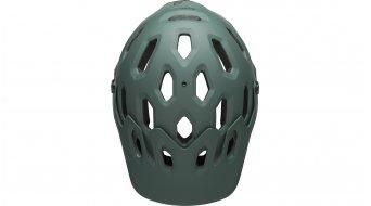 Bell Super 3R MIPS DH(速降)-Enduro头盔 型号 S (52-56厘米) matte dark green/橙色 款型 2019
