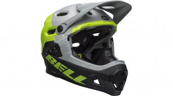 Bell Super DH(速降) MIPS DH(速降)-Enduro头盔 型号 S (52-56厘米) matte/gloss dark gray/bright green/black 款型 2019