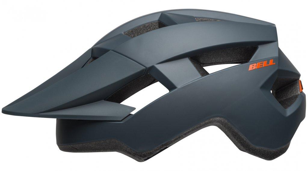 Bell Spark Jr 儿童头盔 型号 均码 youth (50-57厘米) matte slate/橙色 款型 2019