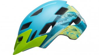 Bell Sidetrack Child enfants-casque taille unique child (47-54cm) mat blue/bright green Mod. 2019
