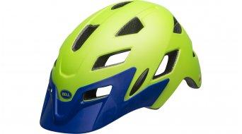 Bell Sidetrack Youth MIPS 儿童头盔 型号 均码 youth (50-57厘米) matte bright green/blue 款型 2019